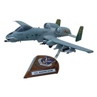Design Your Own A-10 Thunderbolt II Custom Airplane Model
