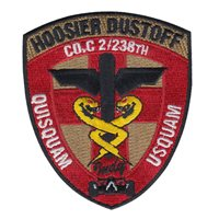 C Co. 2-238th AVN Hoosier Dustoff Patch