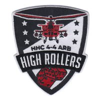 HHC 4-4 ARB High Rollers Red Black Patch