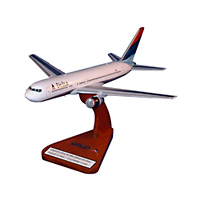 Delta Airlines Boeing 767 Custom Airplane Model