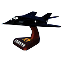 7 FS F-117 Nighthawk Custom Aircraft Model