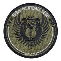 193 Paintball Club Patch
