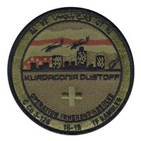 C Co 3-126 AVN REGT Kurdagonia Dustoff OCP Patch
