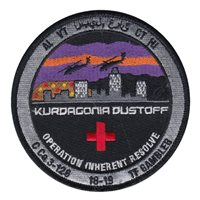 C Co 3-126 AVN REGT Kurdagonia Dustoff Patch