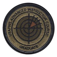 USAFWS AIC Instructor OCP Patch