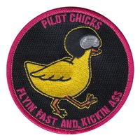 960 AACS Pilot Chicks Patch