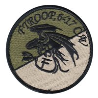 F Troop 6-17 CAV OCP Patch