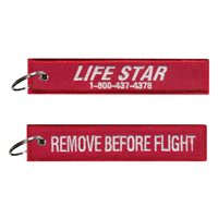 Hartford Hospital Life Star Key Flag With Phone Number