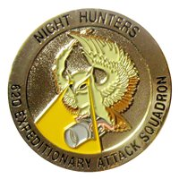 62 EATKS Night Hunters OFS Challenge Coin