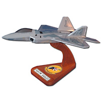 27 FS F-22 Custom Airplane Model