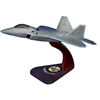 422 TES F-22 Custom Airplane Model