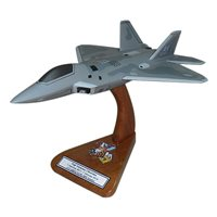 525 FS F-22 Custom Airplane Model