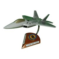 19 FS F-22 Custom Airplane Model