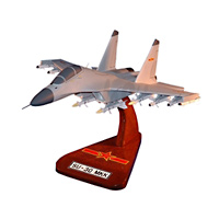 China SU-30MKK Custom Airplane Model