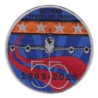 418 FLTS 55 Year Patch