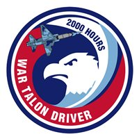 T-38C 2000 Hour War Talon Driver Patch