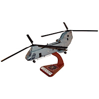 HMM-266 CH-46E Custom Helicopter Model