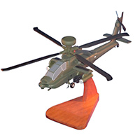 US Army AH-64 Custom Helicopter Model