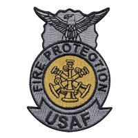 USAF Assistant Chief Fire Badge Patch