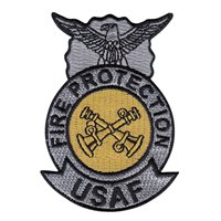 USAF Battalion Chief Fire Badge Patch