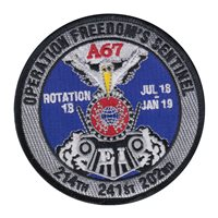 214 EIS AFCENT A67 Patch