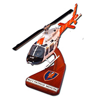 US Army TH-67 Custom Helicopter Model