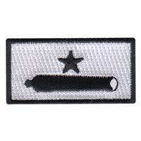 39 AS Gonzales Flag Pencil Patch