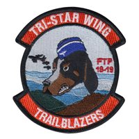 AFROTC Det 800 University of Tennessee Trailblazers Patch