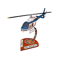 PAS Forth Worth Bell-206 Custom Helicopter Model