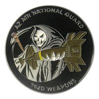 162 WG AZANG Weapons Challenge Coin