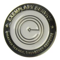 GFP Exemplary Service Challenge Coin