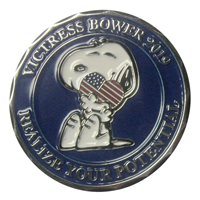 AFJROTC Centennial High School Victress Bower 12th Annual Football Challenge Coin