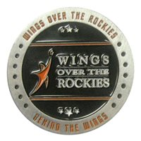 Behind the Wings Challenge Coin