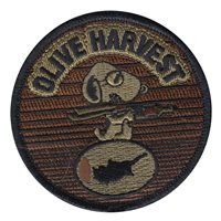 1 RS Olive Harvest Morale OCP Patch