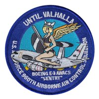 960 AACS Boeing E-3 AWACS Patch