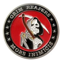 493 FS Grim Reapers  Challenge Coin