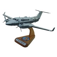 MC-12W Custom Airplane Model