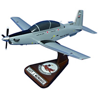 52 EFTS T-6A Texan II Custom Airplane Model