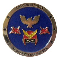7 IS Falcon Flight Coin
