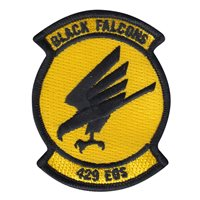 429 EOS Black Falcons 3 Inch Patch