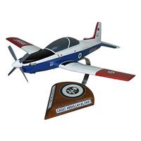 Royal Saudi Air Force Pilatus PC-9 Custom Airplane Model