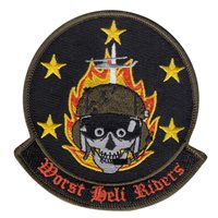 1 HS Worst Heli Riders Patch