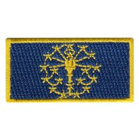 72 ARS Indiana Flag Pencil Patch