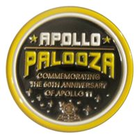 Behind the Wings Apollo Palooza Challenge Coin