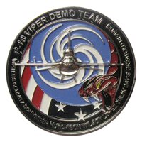 F-16 Viper Demo Team Challenge Coin