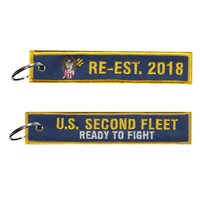 U.S Second Fleet Key Flag