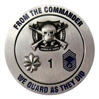 407 AEG ESFS Commander Coin