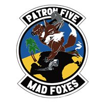VP-5 Mad Foxes Patch