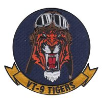 VT-9 Tigers Patch