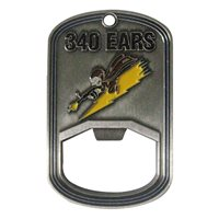 340 EARS Bottle Opener Challenge Coin